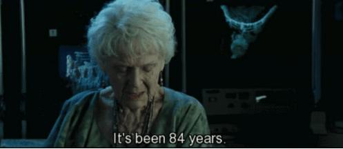 Old lady waiting 84 years titanic