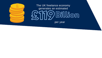 119 billion generated by uk freelancers