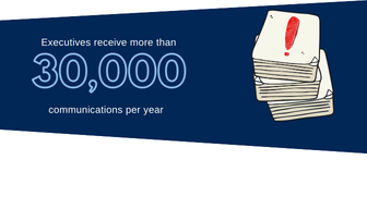 Directors receive 30000 communications per year