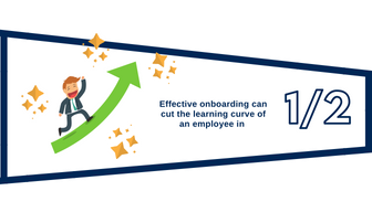 Effective onboarding can cut learning time in half