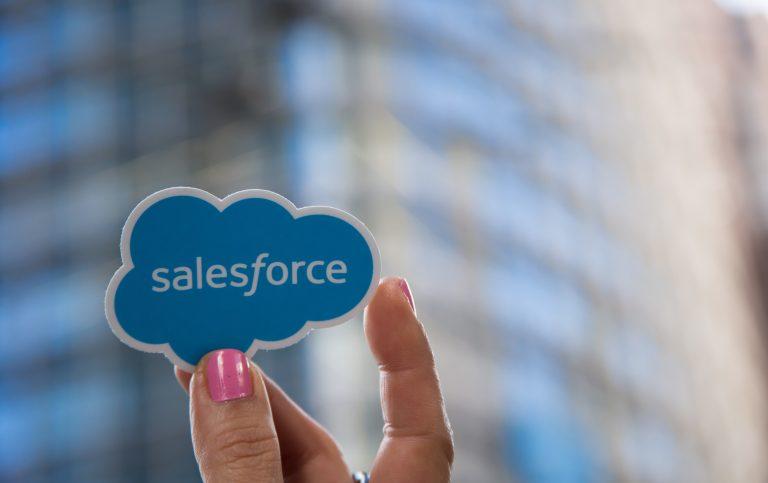 Salesforce Cloud Fingers