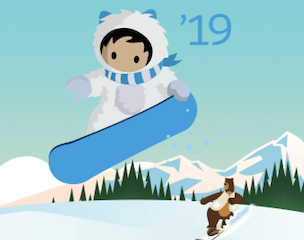 Salesforce Winter '19 Release Banner